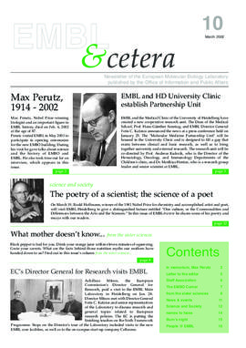 EMBL &cetera (March 2...