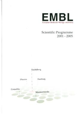 Scientific Programme (200...